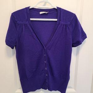 💪2/$15 Purple Ricki's Cardigan